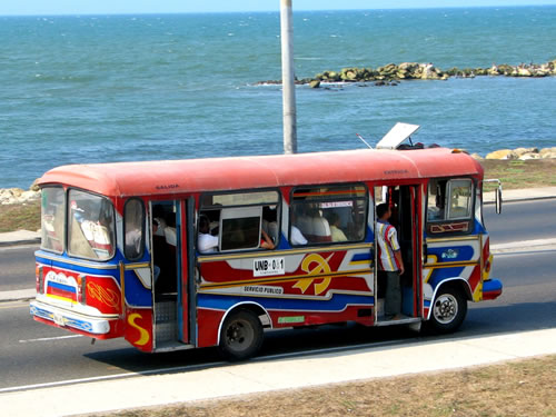 Transport In Cartagena Colombia